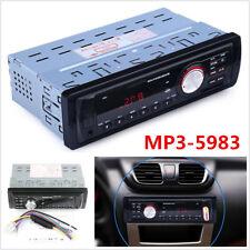 Audio estéreo reproductor 1DIN MP3 Fm Usb Auxiliar TF tarjeta SD receptor en el tablero de puerto USB
