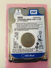 """WD Western Digital Blue WD5000LPCX 500GB 2.5"""" Hard Drive Disk 5400 RPM SATA HDD"""