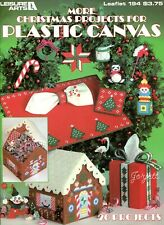 More Christmas Projects, Tissue Covers & More plastic canvas pattern book NEW