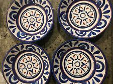 Williams Sonoma Set of 4 Bastille Melamine Bowls NEW Blue White