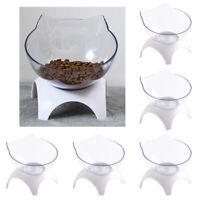 5xRaised Katze Schalen Pet Lebensmittel Wasser Feeder Mit Stand Für Katze Hunde