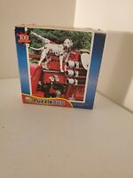 Red Firetruck dalmation dog 100 Piece Jigsaw Puzzle from puzzle bug