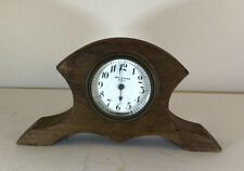 New Haven Small Wood Mantle Clock Non Working