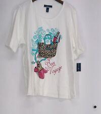 Geometric Plus Size 100% Cotton Tops & Blouses for Women