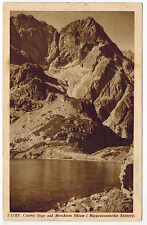 Morskie Oko Lake in Tatry, Poland, sent to Estonia, 1936, advertising cancell.