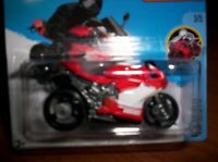 DUCATI 1199 PANIGALE  ROSSA - HOT WHEELS - SCALA 1/55
