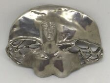 Vintage 1990's Wendy Black-Nasta Large Guardian Angel Pin Brooch Artist Signed