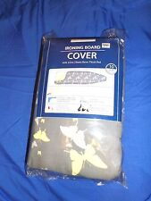 Bed Bath & Beyond Reversible Ironing Board Cover Butterfly Repeat Gray