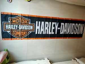 Harley Davidson Flag 2X8 FT Banner Polyester FAST SHIPPING!!! #2