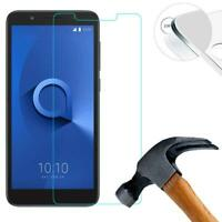 New Thin Clear LCD Tempered Glass Screen Guard Protector For Alcatel 1C 5009A