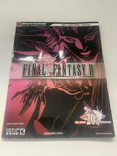 Neuwertig Final Fantasy 2 II Lösungsbuch Guide