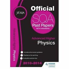 SQA Past Papers 2014-2015 Advanced Higher Physics, SQA, Very Good condition, Boo