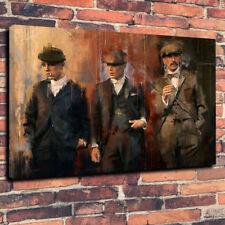 Peaky Blinders Printed Canvas Picture Multiple Sizes 30mm Deep Birmingham Gangs