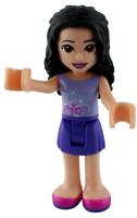 Lego Friends Emma Top in lavendel Minifigur (frnd303) Legofigur Figur Neu