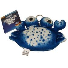 Adventure Planet Plush - CRAB (BLUE) (keychain - 5 inch) - New Stuffed Animal