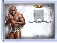 WWE Apollo Crews 2016 Topps Undisputed Event Worn Shirt Relic Card SN 105 of 175