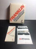 Vintage Computer Manual FRANKLIN WORDSTAR User Reference with  2 Floppy Disks
