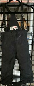 Obermeyer Black Suspender Snow Pants Preschool Size 6