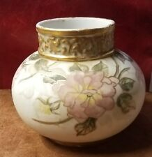 ANTIQUE 19th Century 1890s J. P. L. LIMOGES FRANCE PORCELAIN VASE JEAN POUYAT