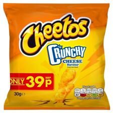 CHEETOS CRUNCHY - 30x30g Bags (CHEESE Flavour) in Factory Case