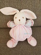 "Kaloo Pink Blue 7""  Bunny Rabbit Baby Soft Toy Plush Cuddly Comforter Doudou"