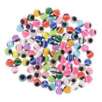 Lot De 50 x Perles En Résine Fabrication De Bijoux Bracelet Loisir Créatif