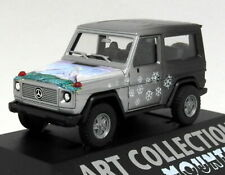 Herpa 1/87 HO Scale - Mercedes Benz 300 GE Mountain Tiny Model Car + Case