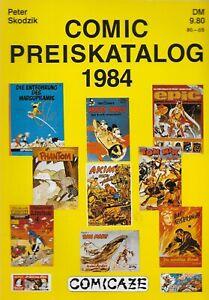Comic Preiskatalog 1984 / Comicaze Verlag