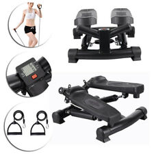 Exercise Trainer Machine Stepper Legs Arms Toner Toning Workout Mini Gym Step UK