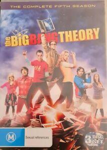 Big Bang Theory Season 5 Region 4 DVD 3 Discs