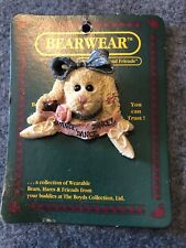 Boyds Bear Margot Bunny Rabbit Ballerina Pin Dance Ballet Bearwear 26114