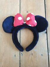 Disney Minnie Mouse Ears Headband plush covered (Disney Original)