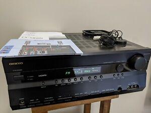 Onkyo TX SR606 7.1 Channel 210 Watt Receiver NO REMOTE