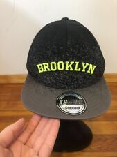 KB ETHOS Baseball Cap - BROOKLYN - SnapBack Cotton Black/Gray One Size