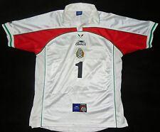 Mexico 00-01 Jorge Campos Away Shirt Pumas UNAM jersey Galaxy Maglia Cruz Azul