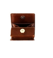 131774f60b New Visconti 421 Mens Genuine Leather Coin Purse Wallet Brown Gift US Ship