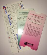 HVAC Chart 3 Pack R-22 & R-410a Superheat Calculator and Duct Calculator