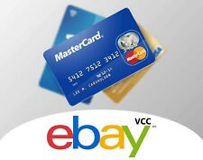 VCC eBay and etsy acc Virtual Credit Card For Payment Verification fast delivery