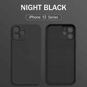 Phone Case For iPhone 13 12 11 Pro Max XR XS X 8 7 Plus SE Liquid Silicone Cover