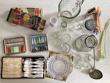 Bulk lot of vintage kitchen items