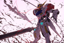 "Gundam Iron Blooded Orphans 17"" x 11"" Large Wall Poster Print Fan Art Anime"