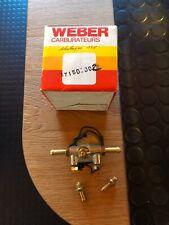POMPE A ESSENCE ELECTRIQUE  WEBER 37150002 12 VOLTS  NEUF COLLECTION