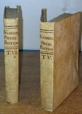 The Civil History of the Kingdom of Naples, 1760, Pietro Giannone - 2 Vols