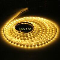 5M 3528 SMD Warm White 300 Led Strip Light Nonwaterproof Car 12V 16.4ft Lamp