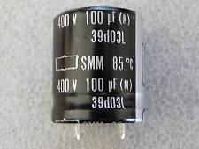 Condensateur 100uF 400V snap-in Nippon Chemi-con SMM