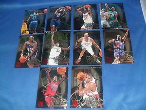 1995-96 FLEER BASKETBALL - ROOKIE PHENOMS 'HOT PAKS' SET (10) NBA CARDS *GARNETT