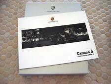 PORSCHE OFFICIAL CAYMAN S PDE Ltd Ed BOXED SALES BROCHURE 2008 USA EDITION.