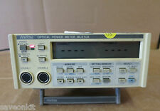 Anritsu ML910A Optical Power Meter Dual Inputs Model Measuring Test Instrument
