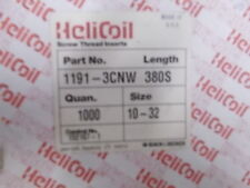 Heli Coil Screw Thread Inserts 900+ Pieces Roll  #1191-3CNW 380S Size 10-32