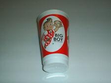 "Rare Vintage Big Boy Restaurant Plastic Cup 5 & 1/4"" Tall"